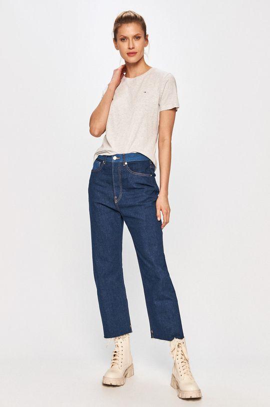 Tommy Jeans - Tricou gri
