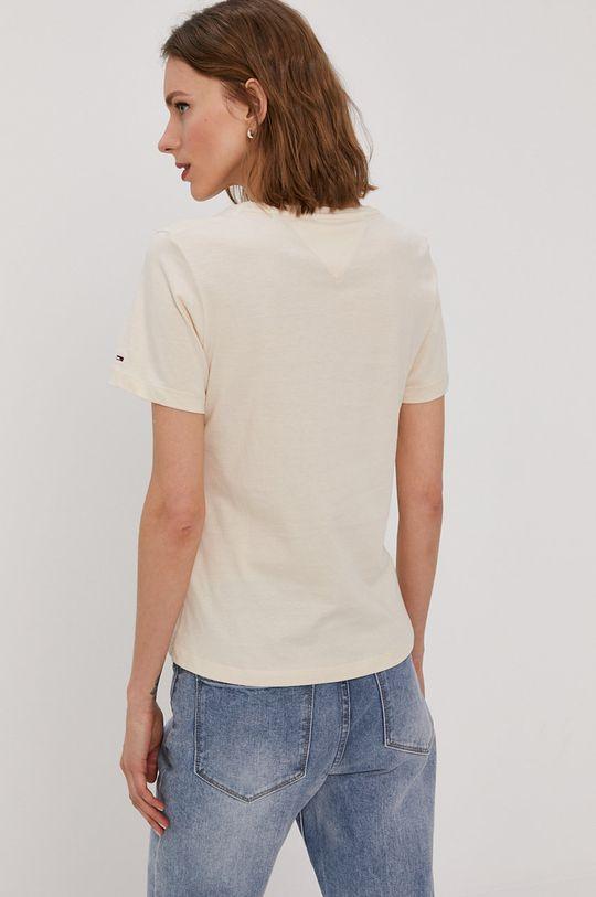 Tommy Jeans - T-shirt 80 % Bawełna organiczna, 20 % Bawełna z recyklingu