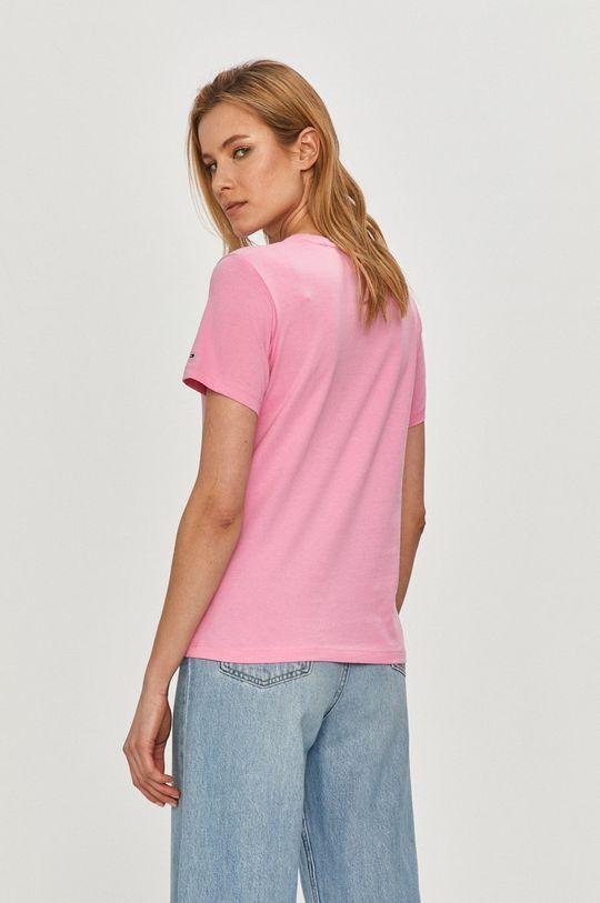 Tommy Jeans - Tričko  80% Organická bavlna, 20% Recyklovaná bavlna