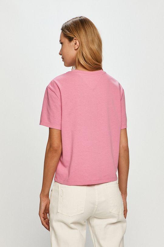 Tommy Jeans - Tričko  50% Recyklovaný polyamid, 50% Recyklovaná bavlna