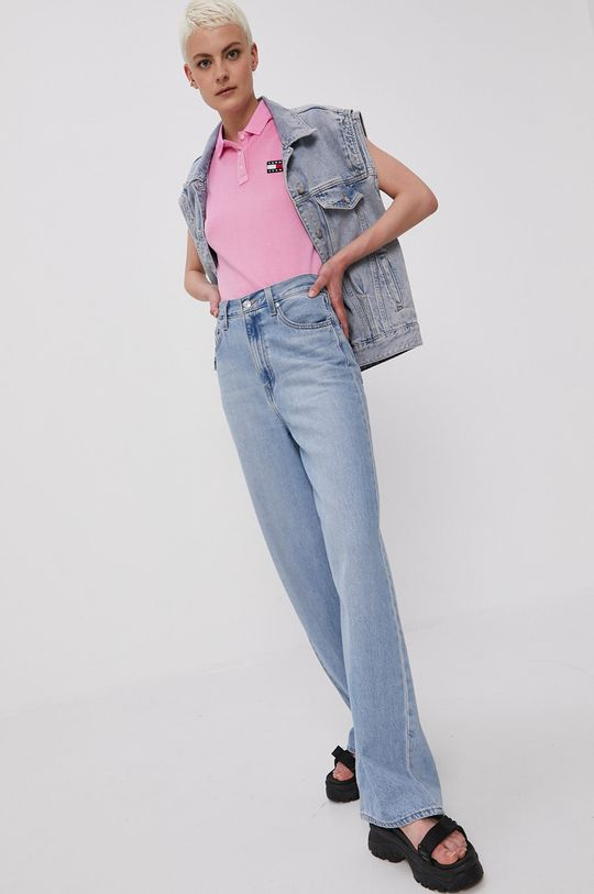 Tommy Jeans - Top orchidea
