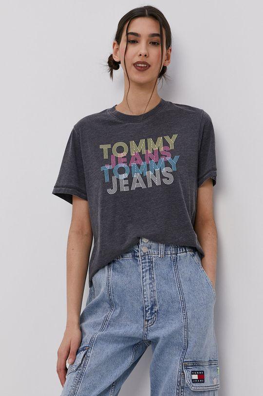 negru Tommy Jeans - Tricou De femei