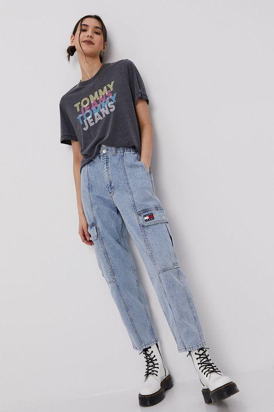 Tommy Jeans - Tricou negru