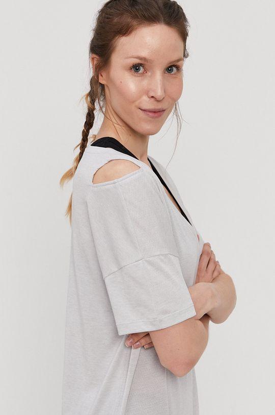 jasny szary Reebok - T-shirt