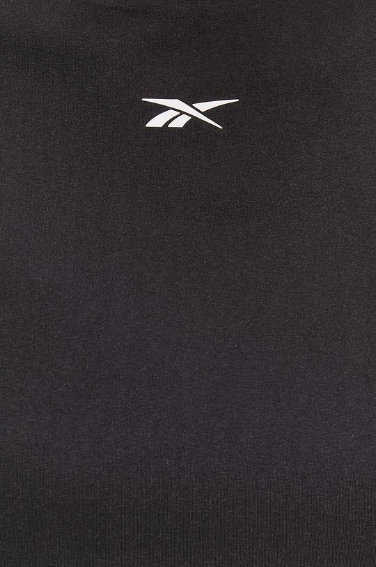 czarny Reebok - T-shirt