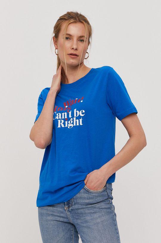 niebieski Jacqueline de Yong - T-shirt