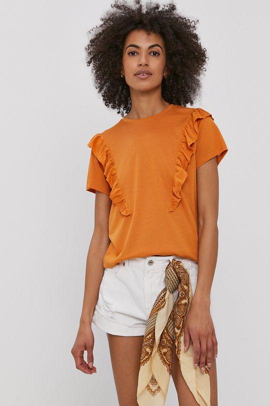 portocaliu Jacqueline de Yong - Tricou De femei