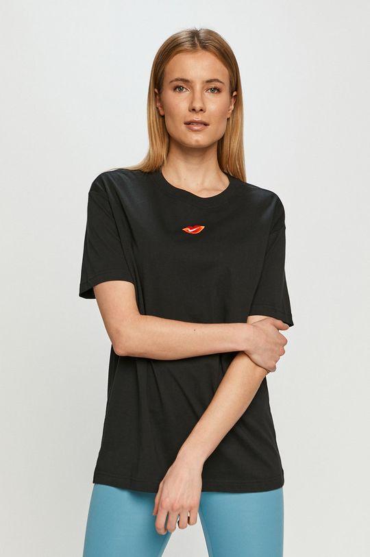 czarny Nike Sportswear - T-shirt Damski