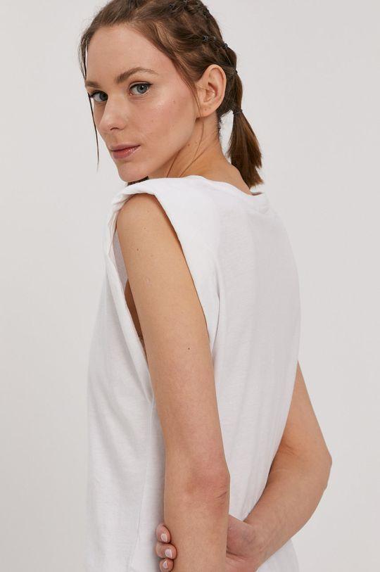 biały Jacqueline de Yong - T-shirt