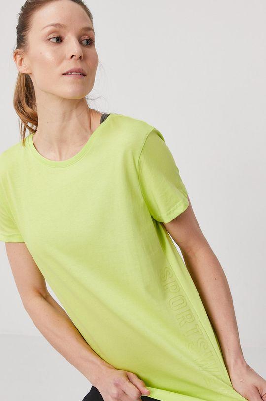 żółto - zielony 4F - T-shirt Damski
