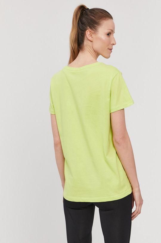 4F - T-shirt żółto - zielony
