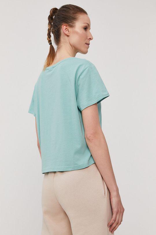 4F - T-shirt blady zielony