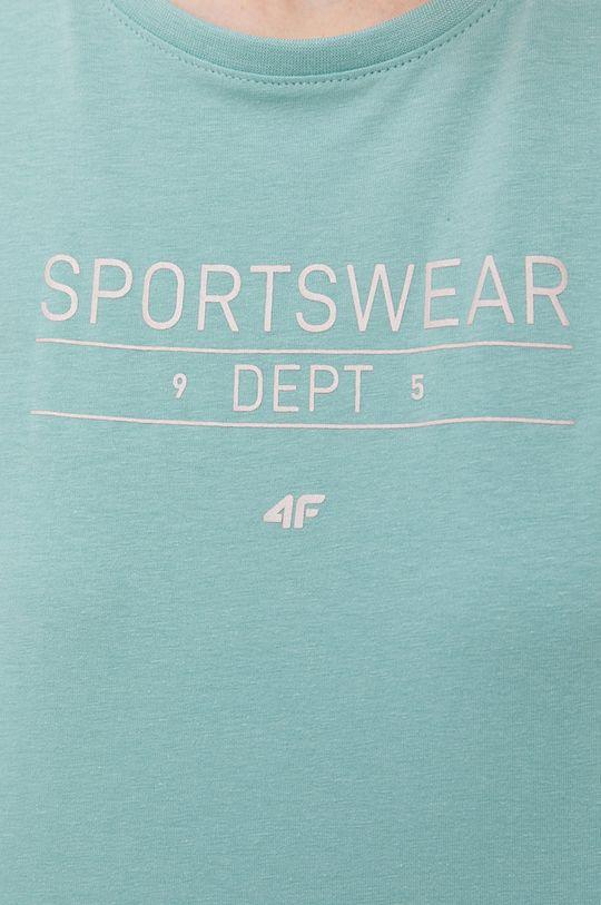 blady zielony 4F - T-shirt