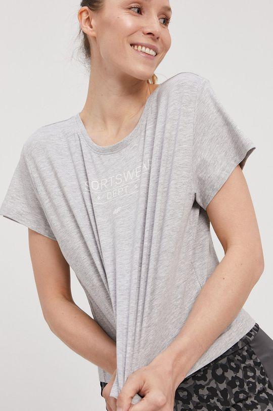 4F - Tričko  95% Bavlna, 5% Elastan
