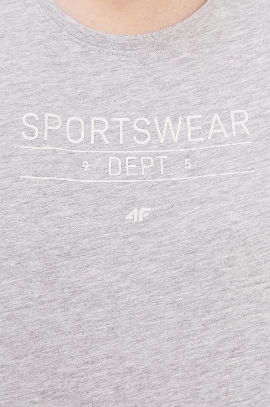 svetlosivá 4F - Tričko