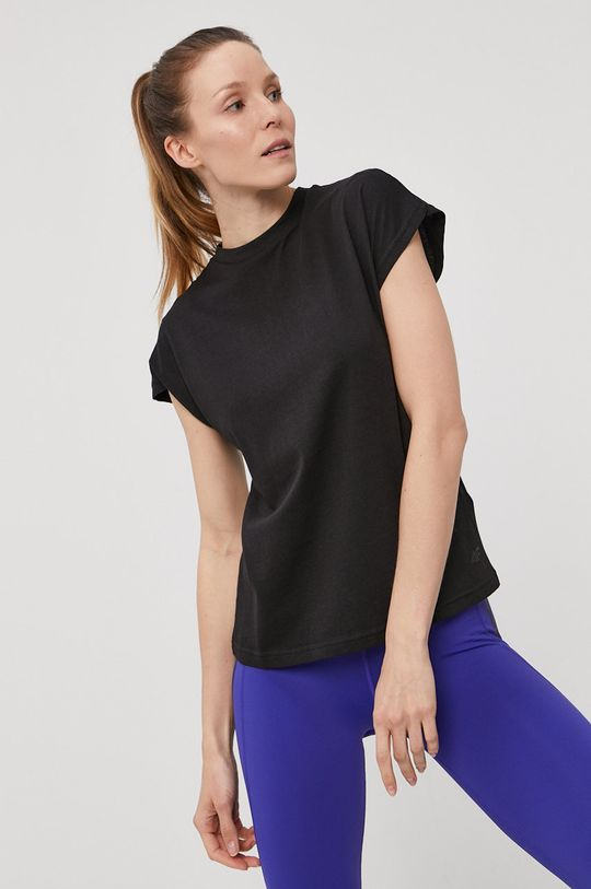 4F - T-shirt 50 % Bawełna, 50 % Modal