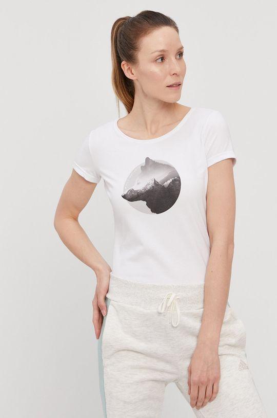 4F - T-shirt 58 % Bawełna, 4 % Elastan, 38 % Poliester