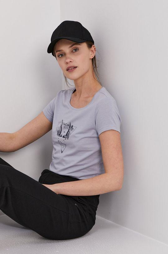 jasny niebieski 4F - T-shirt Damski