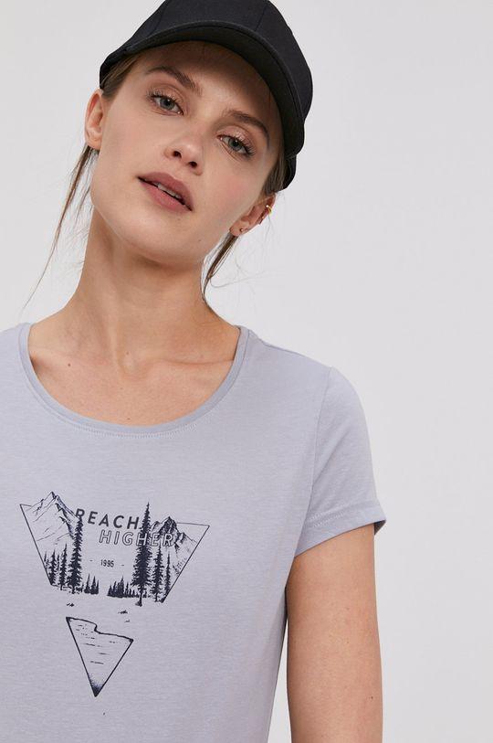 jasny niebieski 4F - T-shirt