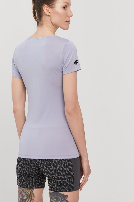 4F - Tricou violet