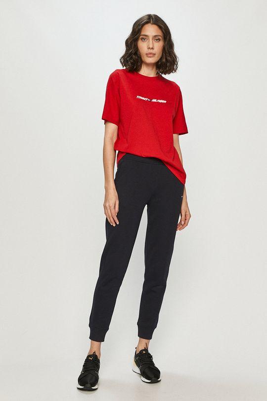 Tommy Hilfiger - T-shirt czerwony