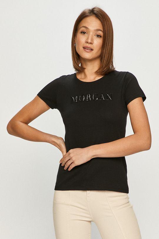 čierna Morgan - Tričko Dámsky