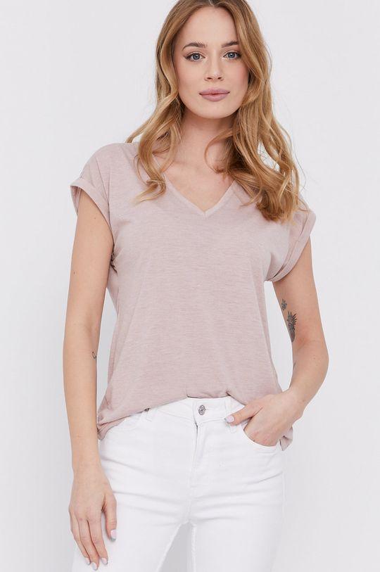 różowy Morgan - T-shirt Damski