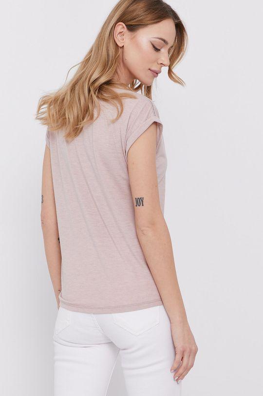 Morgan - T-shirt 70 % Poliester, 25 % Wiskoza, 5 % Włókno metaliczne