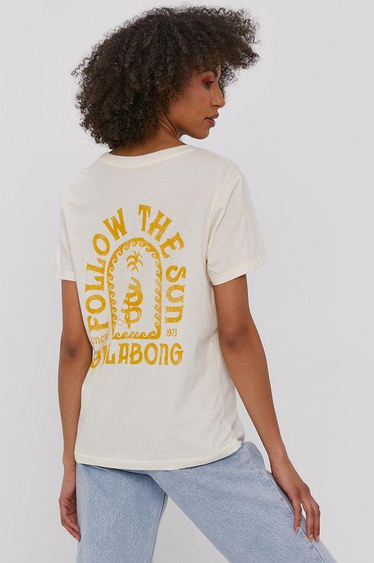 Billabong - T-shirt kremowy
