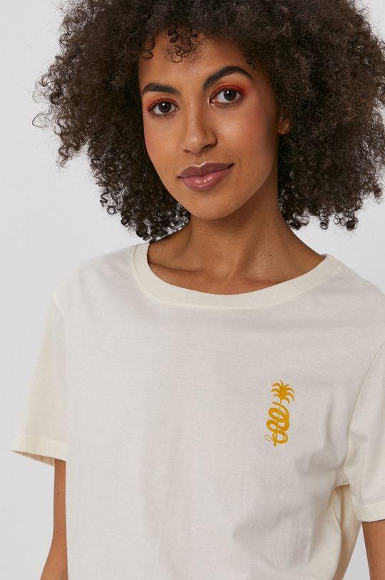 kremowy Billabong - T-shirt