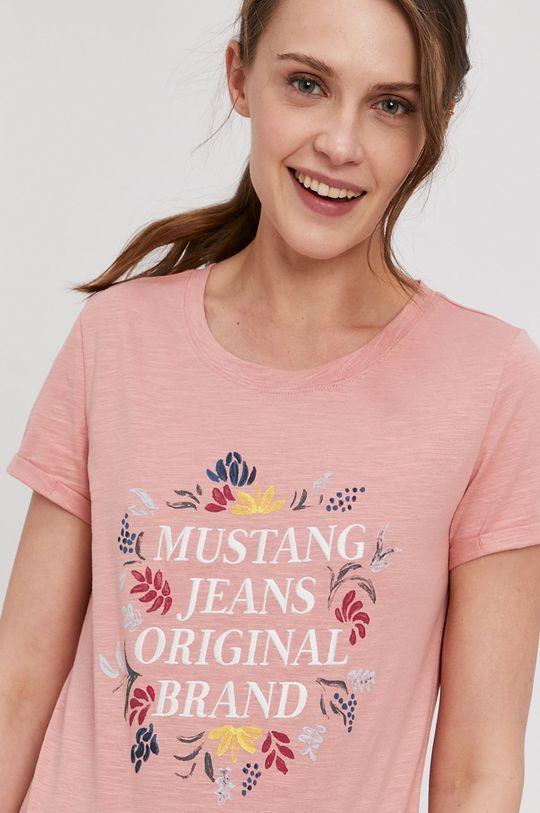 staroružová Mustang - Tričko Dámsky