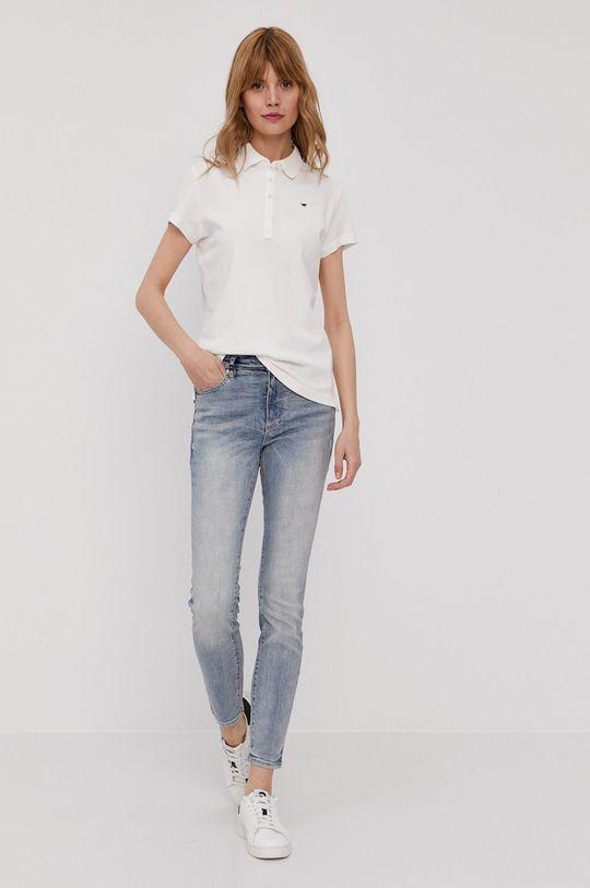 Mustang - T-shirt biały