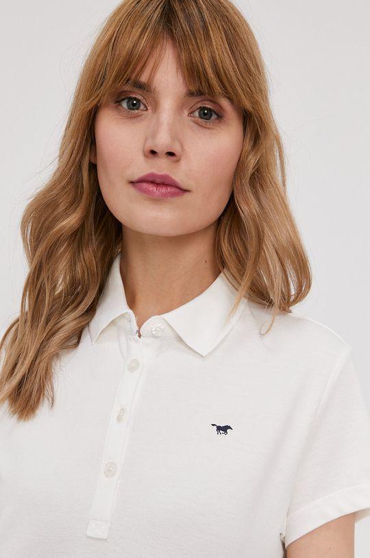 biały Mustang - T-shirt