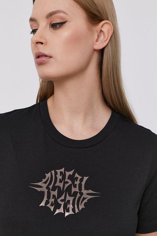 czarny Diesel - T-shirt