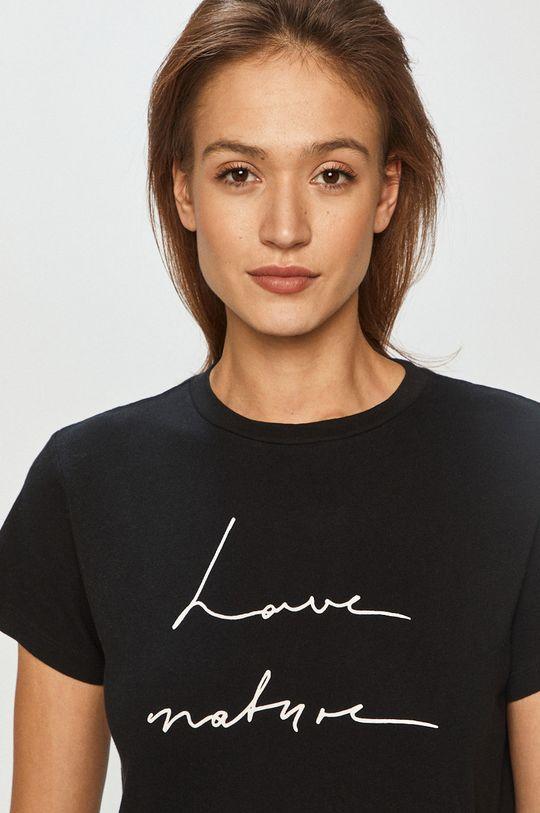 czarny Marc O'Polo - T-shirt Damski