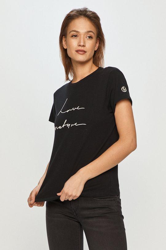 czarny Marc O'Polo - T-shirt