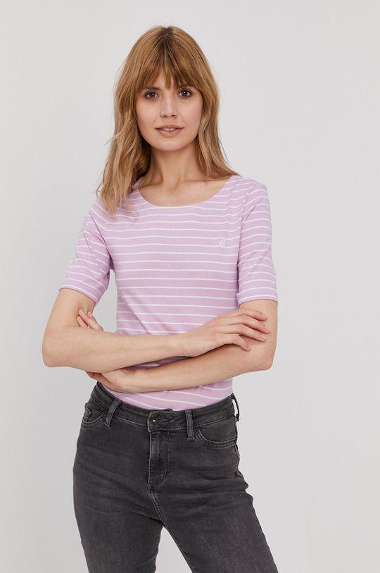 fioletowy Marc O'Polo - T-shirt