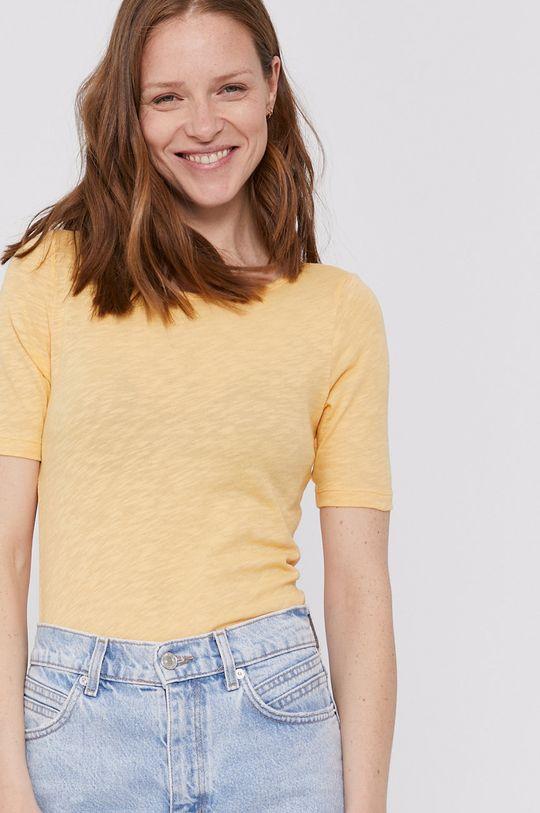 žlutá Marc O'Polo - Tričko Dámský