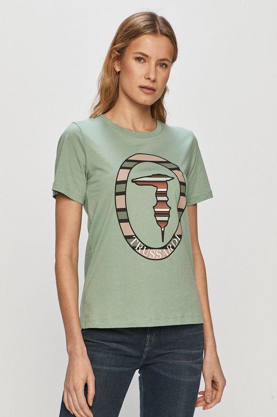 zelená Trussardi Jeans - Tričko Dámsky