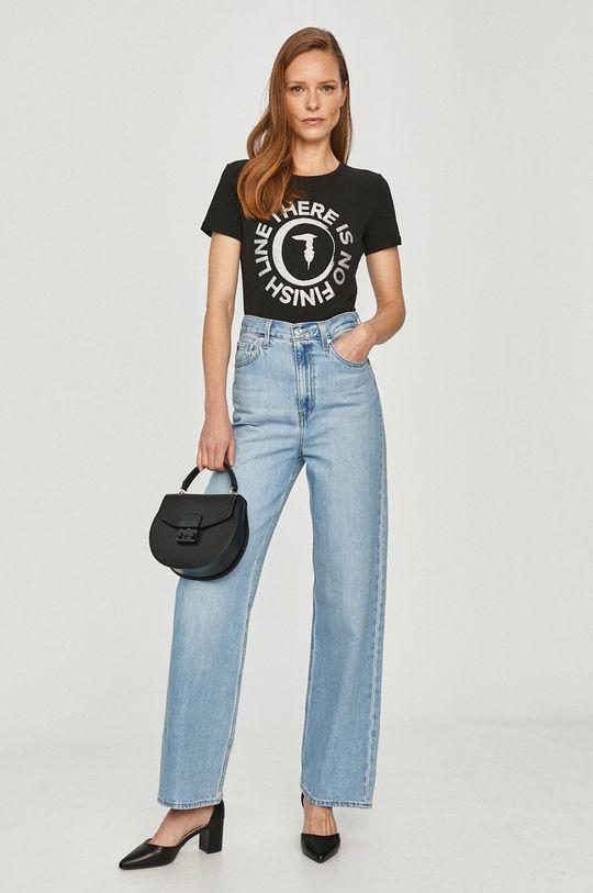 Trussardi Jeans - T-shirt czarny