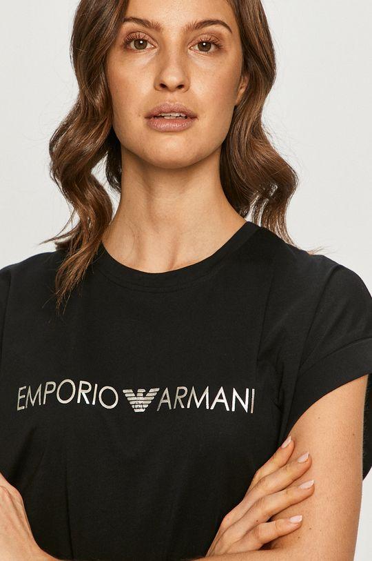 čierna Emporio Armani - Tričko