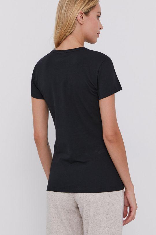Emporio Armani - Pyžamové tričko černá
