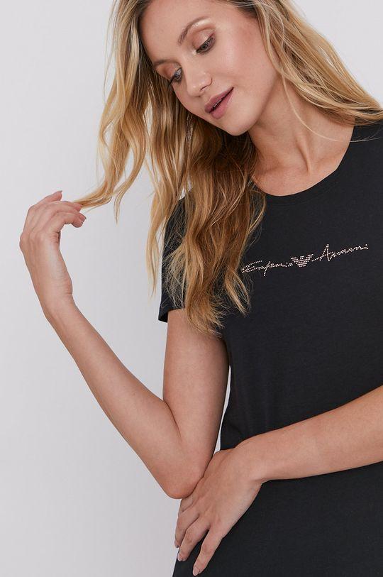 Emporio Armani - Pyžamové tričko  95% Bavlna, 5% Elastan