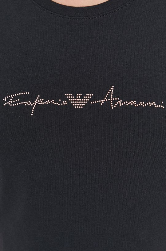 černá Emporio Armani - Pyžamové tričko