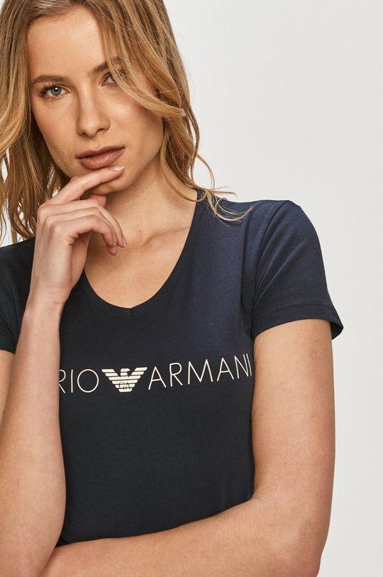 tmavomodrá Emporio Armani - Tričko
