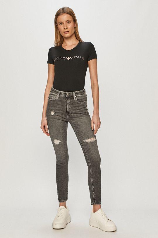 Emporio Armani - Tricou negru