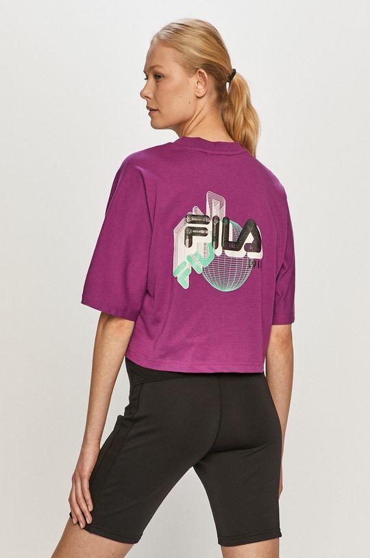 fioletowy Fila - T-shirt Damski