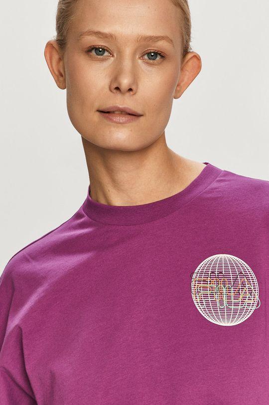 fioletowy Fila - T-shirt