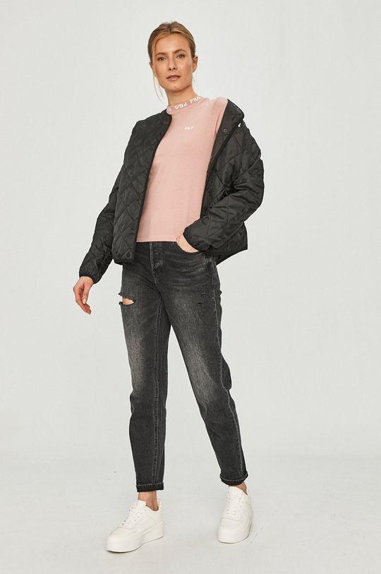 Fila - T-shirt różowy