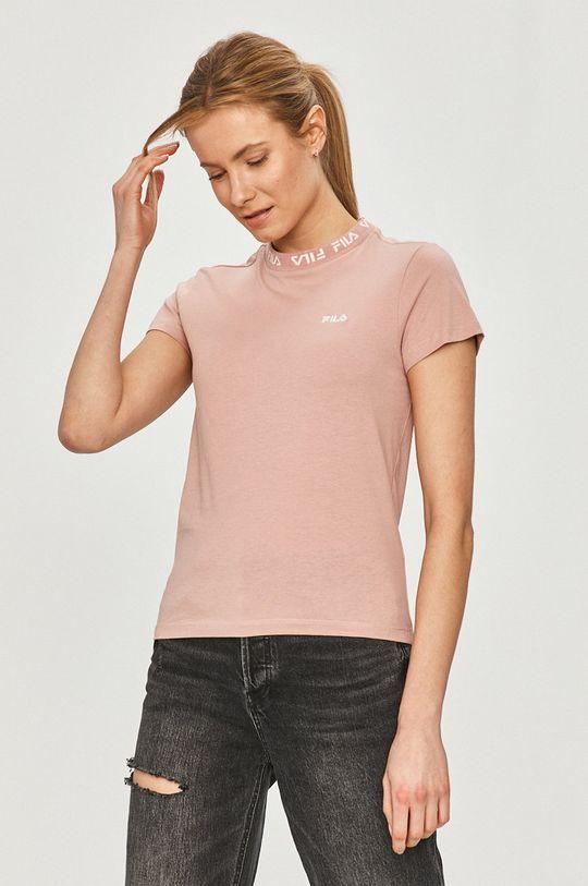 różowy Fila - T-shirt